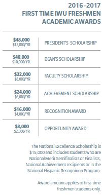 IWU - Academic Awards