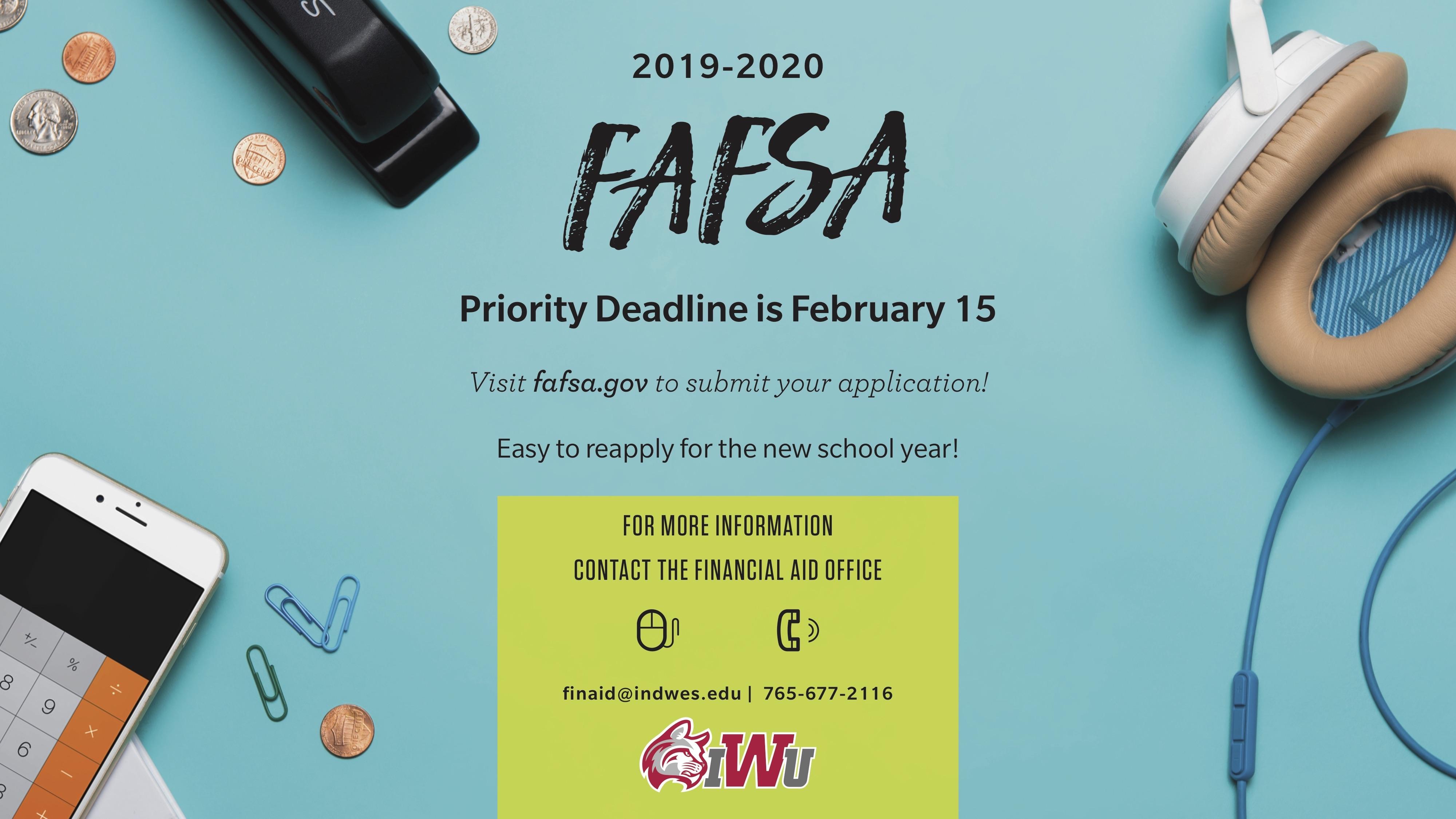 fafsa due date 2020